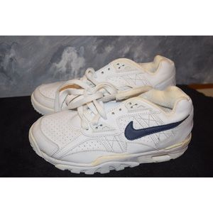 Nike Shoes - Nike Air Max White With Black Check